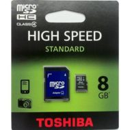 FLASH MICRO SD+ADAPT 8GB TOSHIBA SD-C08GJ_6A