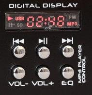 MEZCLADOR 4 CANALES USB-MICRO DJ21USB-MKII