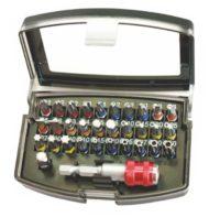 Juego 32 Pzas Bits-color MERCATOOLS MT-30663
