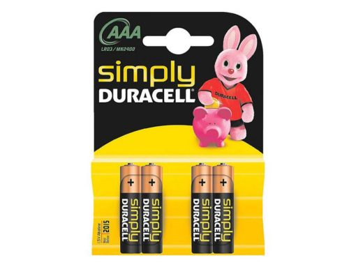 Pilas AAA MN2400/LR03 Simply DURACELL 002432