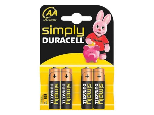 Pilas AA MN1500/LR6 Simply DURACELL 002241