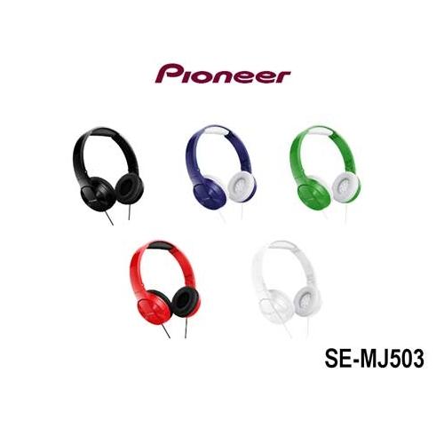 Auriculares diadema plegable Negro PIONEER SE-MJ503-K