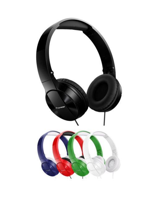 Auriculares diadema plegable Verde PIONEER SE-MJ503-G