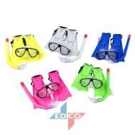 Set gafas+tubo+patos para niño DUNLOP