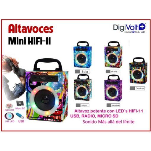 Altavoz bluetooth dibujo DIGIVOLT HIFI-14