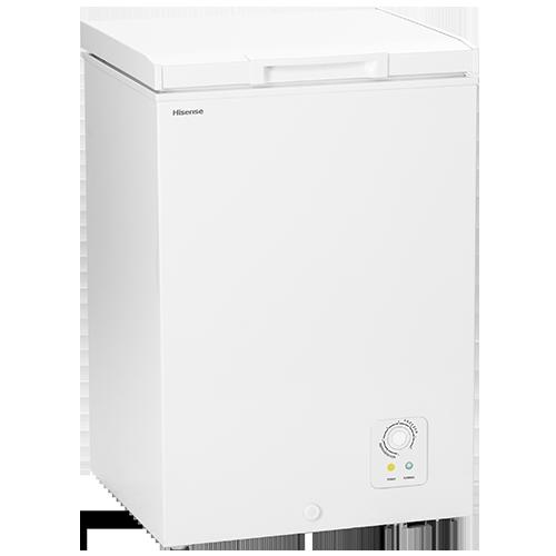 Congelador Horizontal A+ 98L. 563x836x526 (función frigo)  HISENSE FT130D4AW1
