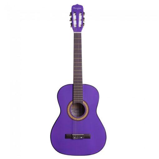"""Guitarra clasica violeta 39"""" WINZZ AC851R-PP"""