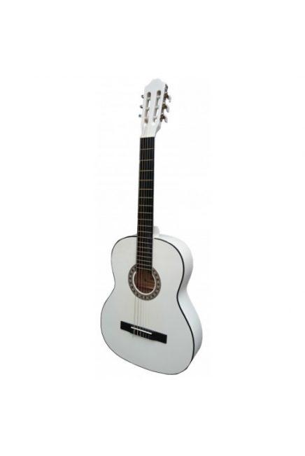 """Guitarra clasica blanca 39"""" WINZZ AC851R-WH"""
