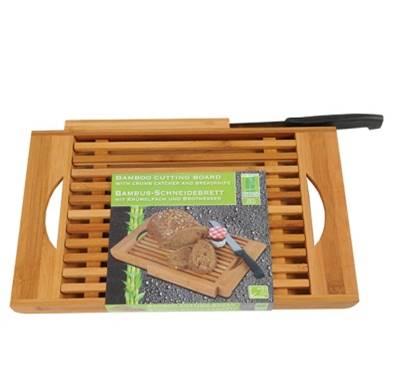 Tabla de cortar pan+cuchillo 31x23,5cm