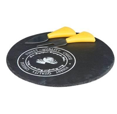 Set cortar queso pizarra 23cm
