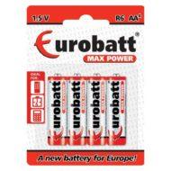 PILA AA R6 (4) MAX POWER EUROBATT BR6-BP4