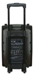 Altavoz portatil con bateria y micro IBIZA PORT10VHF-BT