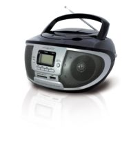 Radio con CD-MP3 Negro IRRADIO CDKU55CNS