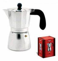 Cafetera de aluminio OROLEY 3 TAZAS