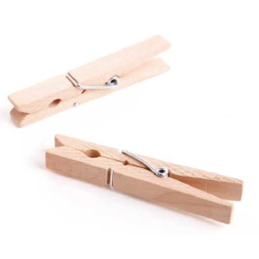 Pinzas para tender madera 24p PROTENROP Q0771
